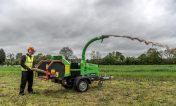 Location broyeur de branches Greenmech Arborist 150+
